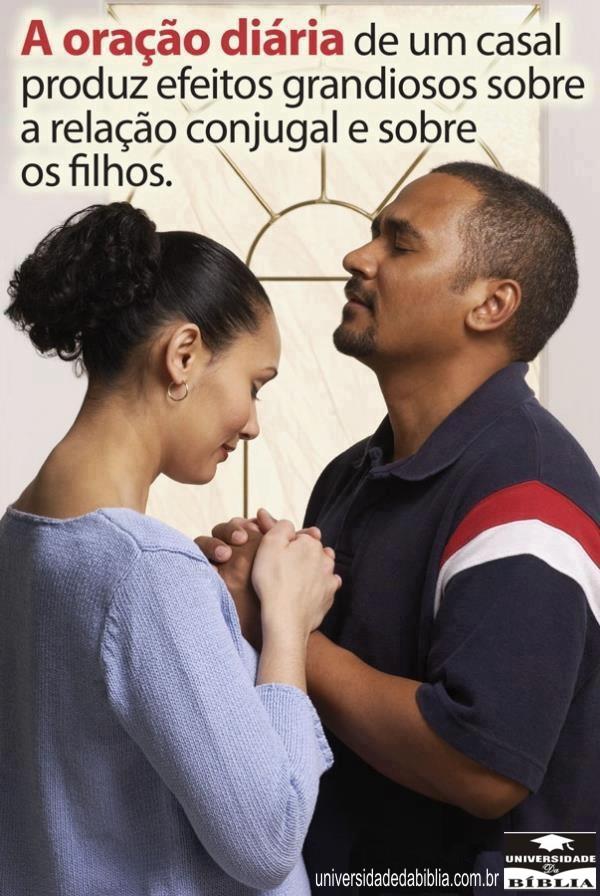 A oração diária de um casal…