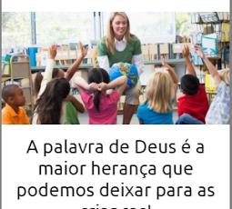 ENSINANDO A BÍBLIA PARA CRIANÇAS – 7 a 9 anos