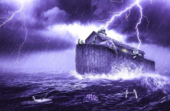Existem evidências geológicas que comprovam  ter havido um Dilúvio universal?