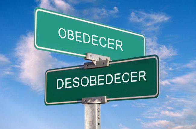 Versículos bíblicos sobre a desobediência