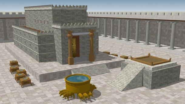 Construindo o Primeiro Templo